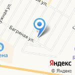 Москвич на карте Барнаула