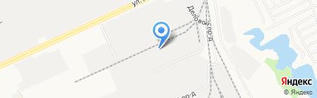 Алтай-Кабель на карте Барнаула