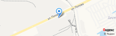 Фабрика цвета на карте Барнаула