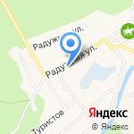Средняя общеобразовательная школа №96 на карте Барнаула