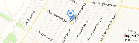 Мясной рай на карте Барнаула