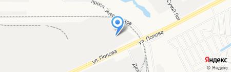 Агросоюз на карте Барнаула
