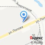 Гермес-Строй на карте Барнаула
