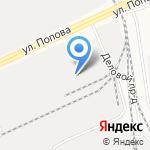 А-Сервис на карте Барнаула