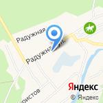 Храм Преображения Господня на карте Барнаула