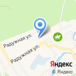 Алсу на карте Барнаула