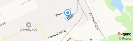 Вторчермет НЛМК Сибирь на карте Барнаула
