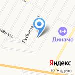 Автоцентр для Volvo на карте Барнаула