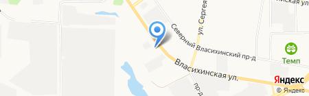 ТехПром на карте Барнаула