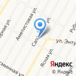 Кровельный дом на карте Барнаула