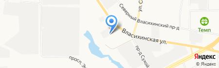 Сибирский Бизнес на карте Барнаула