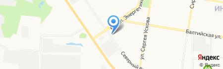 Квартал 2009а на карте Барнаула