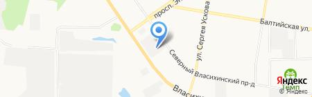 АСМ-Алтай на карте Барнаула