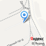 Алтайская Нефтяная Компания на карте Барнаула