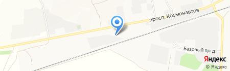 Автоцентр ДТА-сервис на карте Барнаула