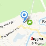 Почтовое отделение №40 на карте Барнаула