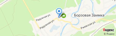 Алтайская горно-геологическая партия на карте Барнаула