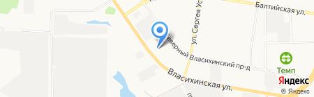 Автотехцентр на карте Барнаула