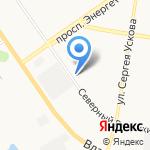 Квартал Балтийская крепость на карте Барнаула