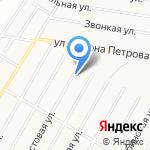 Люблю-Цветы на карте Барнаула