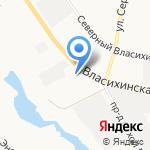 Испытательная Пожарная Лаборатория на карте Барнаула