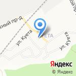 Исправительная колония №3 на карте Барнаула