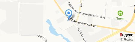 Испытательная Пожарная Лаборатория ФГБУ на карте Барнаула