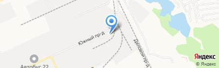 Торнадо на карте Барнаула