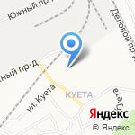 Дом Милосердия на карте Барнаула