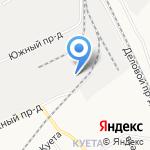 Эдмонд на карте Барнаула