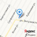 Арт-Мастер на карте Барнаула