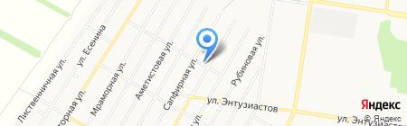 Авив-авто на карте Барнаула