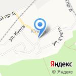 Почтовое отделение №32 на карте Барнаула