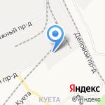 Торгово-строительная компания на карте Барнаула