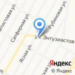 Мастерок на карте Барнаула
