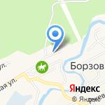 Центр авторазбора и продажи автозапчастей на карте Барнаула