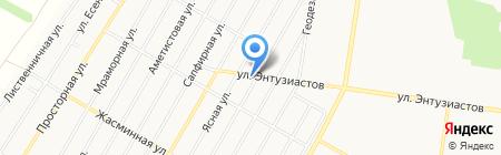Дверь+ на карте Барнаула