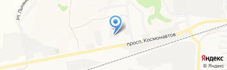 Металл Стиль на карте Барнаула