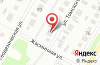 Схема проезда до компании Строймастер в Барнауле
