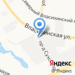 Мастер-С на карте Барнаула