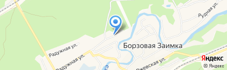 Детский сад №208 на карте Барнаула