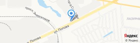 Алтайэнергосоюз на карте Барнаула