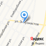 Королевство праздника на карте Барнаула