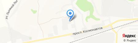 СибМасло на карте Барнаула