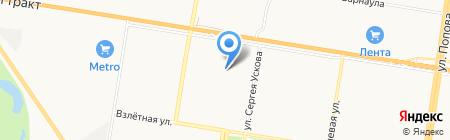 Rikki-Tikki на карте Барнаула