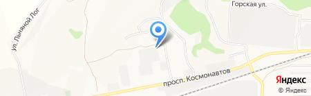 АлтайАвтоСпец на карте Барнаула