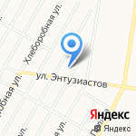 Тракт на карте Барнаула