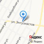 Наживка на карте Барнаула