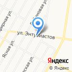 Олива на карте Барнаула