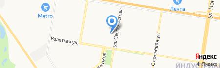 Квартал 2011 на карте Барнаула